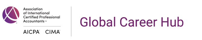 The Association of International Certified Professional Accountants Global Career Hub logo